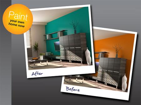 Pinta tu casa sin pintura con colorjive y prueba colores - Quiero pintar mi casa ...