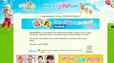 makemebabies ¿Cómo será La cara de mi bebé al nacer?