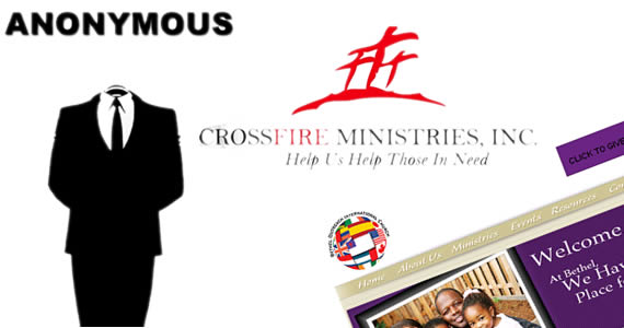anonymous iglesias Anonymous ataca web de iglesias cristianas y coloca videos de ateísmo de Dawkins