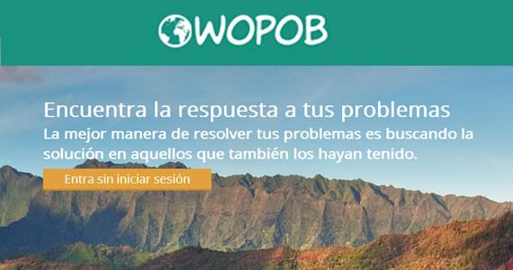 Wopob encuentra la respuesta a tus problemas