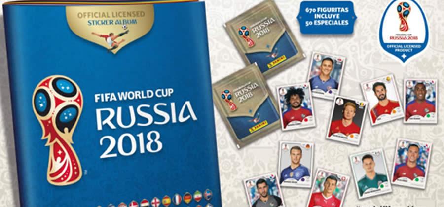 panini Rusia 2018