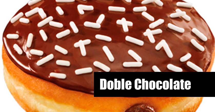 Dunkin Donuts Doble Chocolate