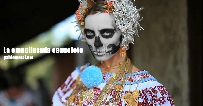 La empollerada esqueleto
